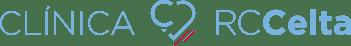 Logotipo Clínica RC Celta horizontal