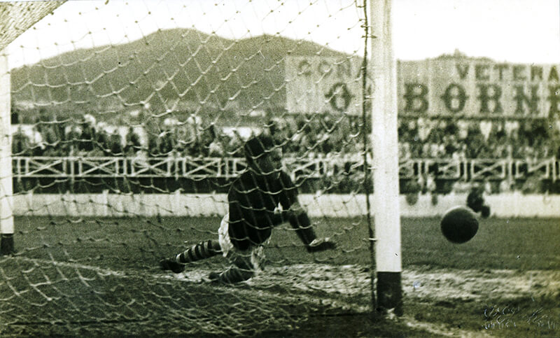 FOTO-07-Tempada-1949-50.-Celta-10---Tarragona-1.-Primeiro-gol-marcado-por-Hermidita