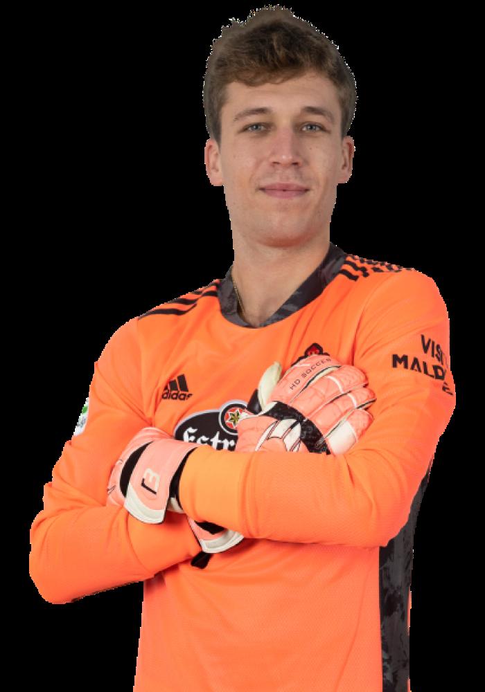 Imágen del jugador Rubén posando