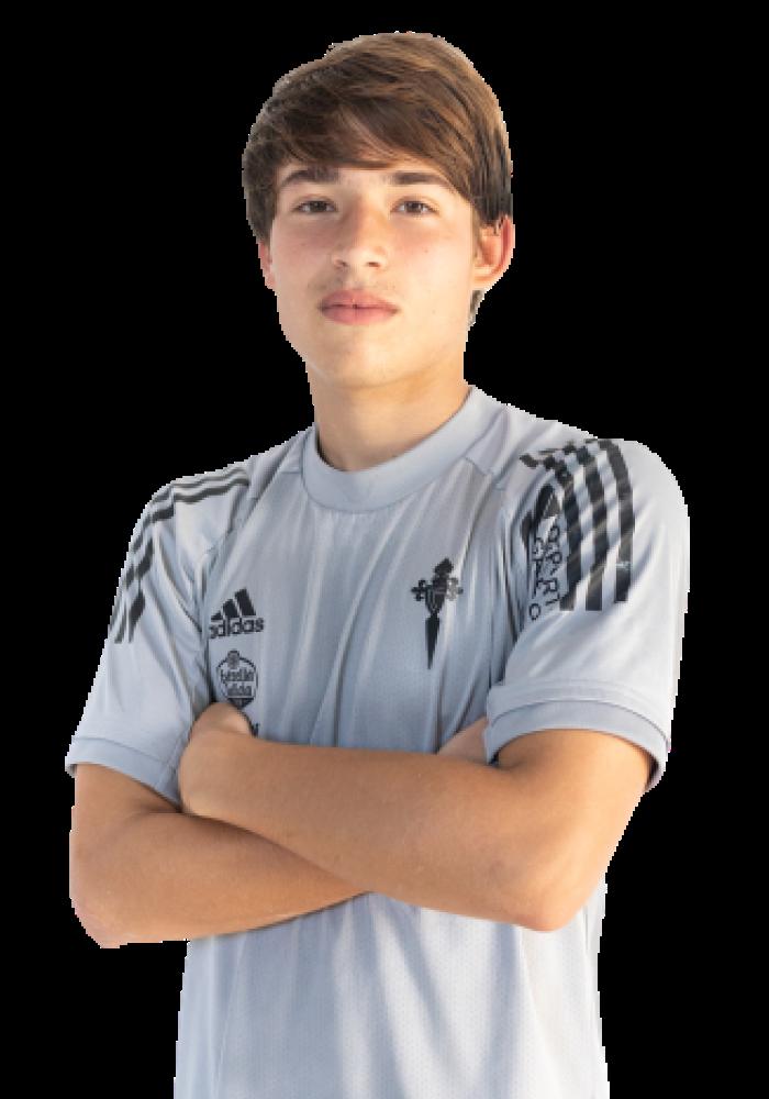 Imágen del jugador Raul Blanco posando