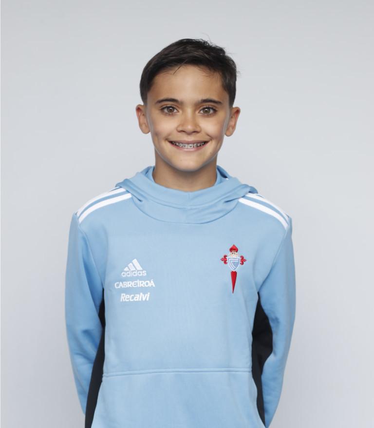 Imágen del jugador Diego García posando
