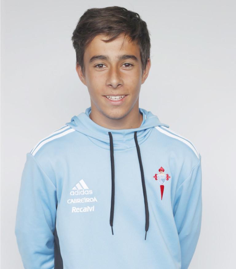 Image of Breogán Sio player posing