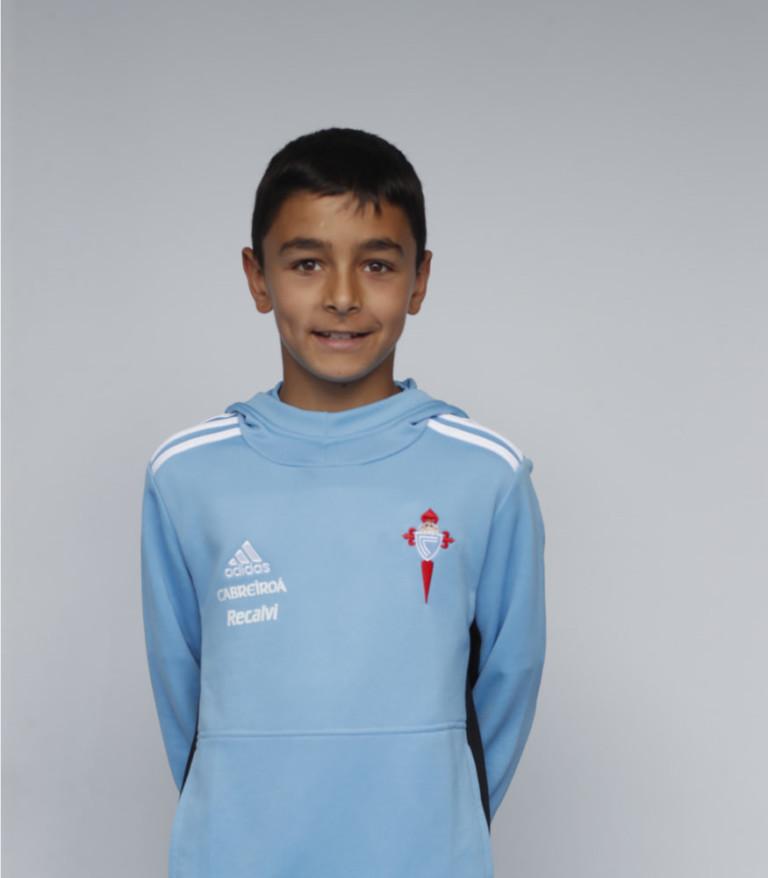 Imágen del jugador Pablo González posando