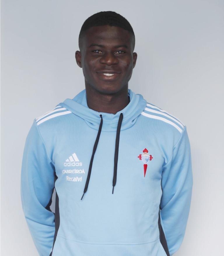 Image of Solomon Teiko player posing