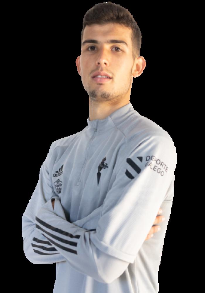 Imágen del jugador C. Domínguez posando