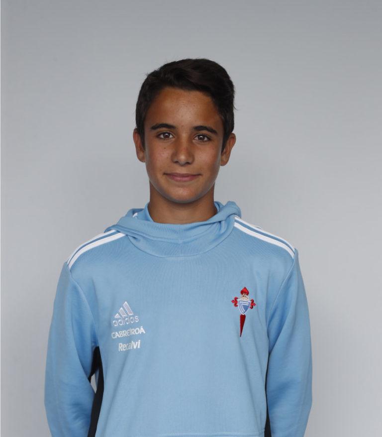 Imáxen de xogador Marcos Sánchez posando
